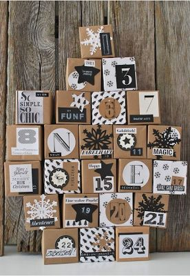 Christmas advent calendar ideas 22