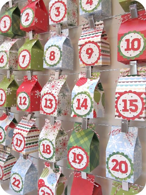 Advent Calendar Handmade : Christmas advent calendar ideas decoholic