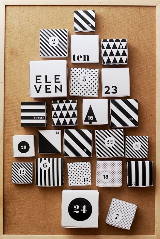 Christmas advent calendar ideas 34