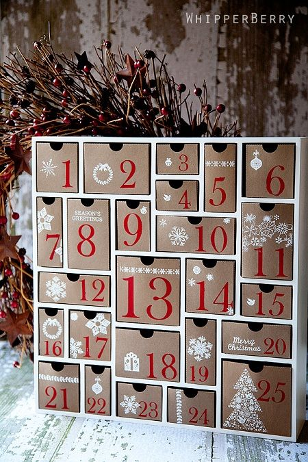 Christmas advent calendar ideas 7