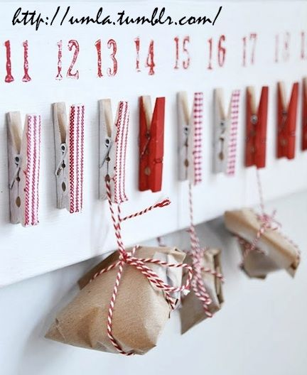 Christmas advent calendar ideas 8