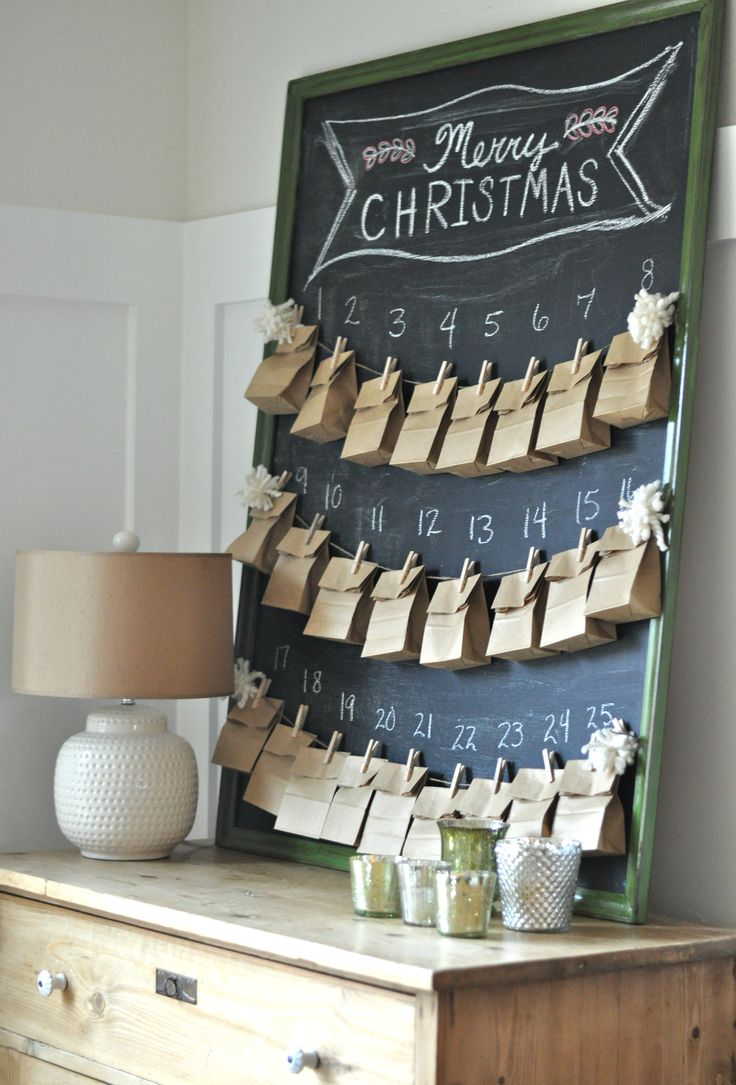 Diy Chocolate Advent Calendar : Christmas advent calendar ideas decoholic