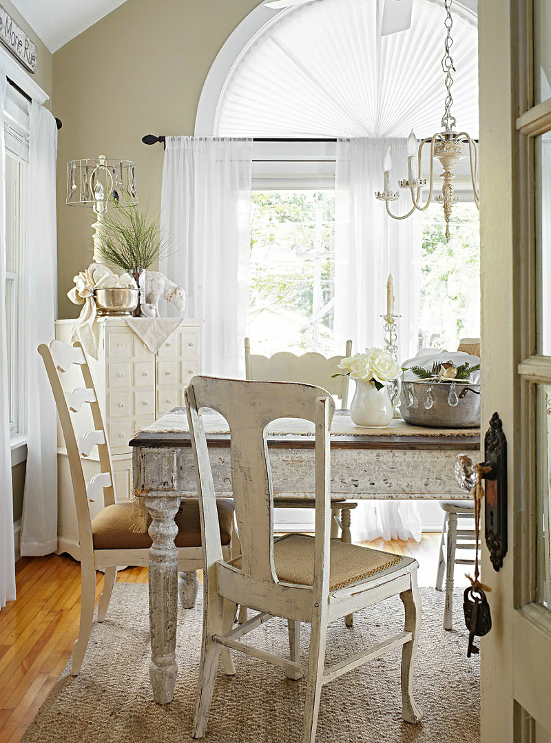 Shabby Chic Farmhouse Decoholic: home design ideas shabby chic