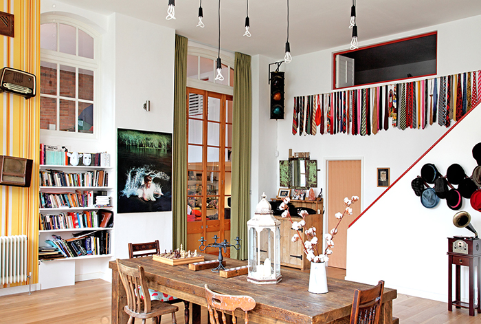 Victorian School Turned Into Eclectic Vintage Home 4