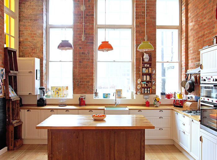 Victorian School Turned Into Eclectic Vintage Home