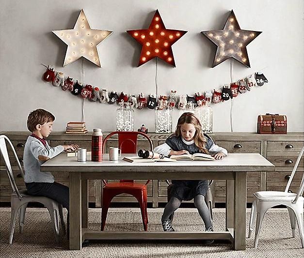 Vintage Industrial Yet Cute Kids' Playroom Ideas 19