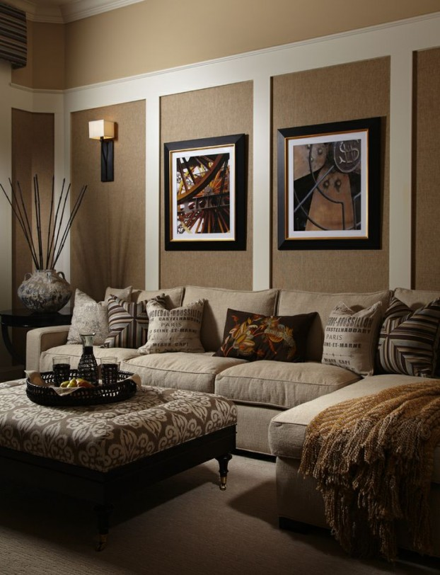 Beige Living Room Ideas 10