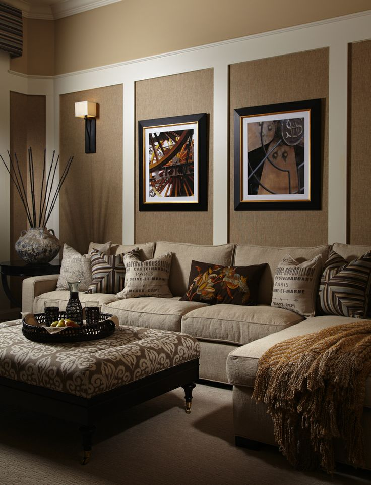 Wall Decor For Brown Furniture : Beige living room ideas decoholic