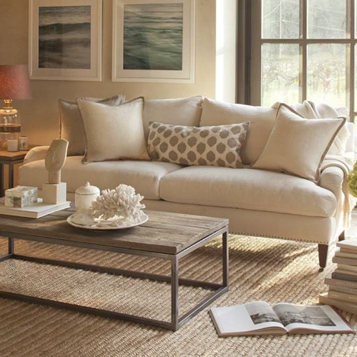 33 beige living room ideas decoholic for Living room ideas tan sofa