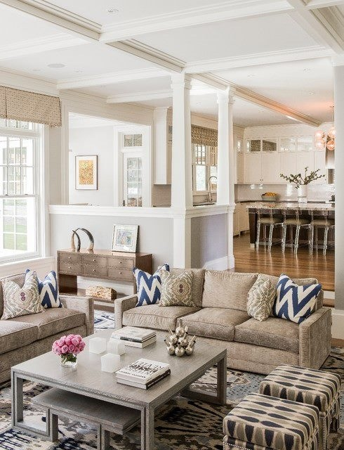 Beige Living Room Ideas 14