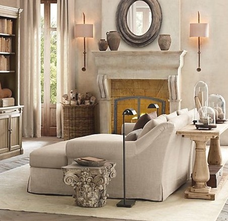 Beige Living Room Ideas 17