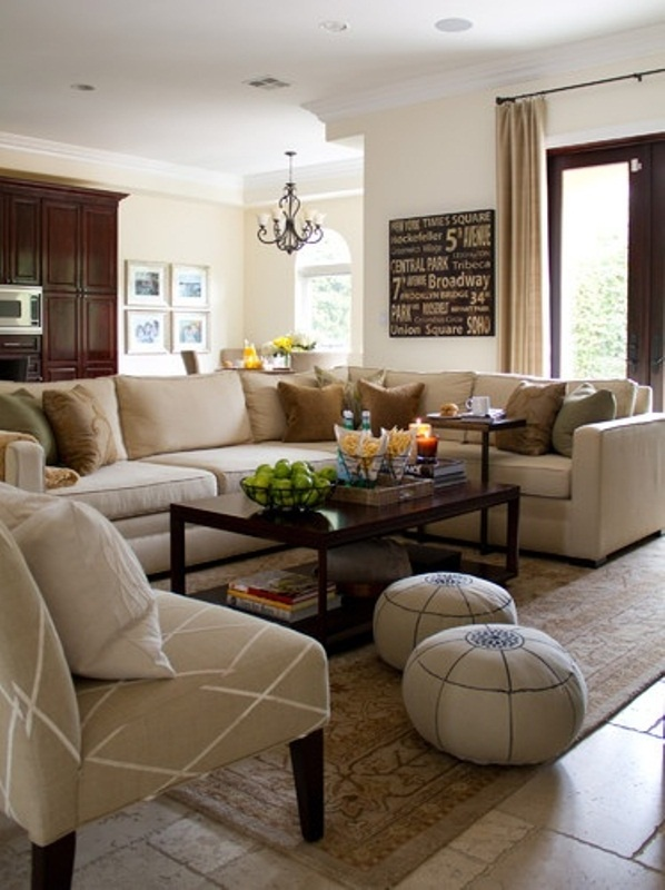 Beige Living Room Ideas Decoholic - Brown and cream living room
