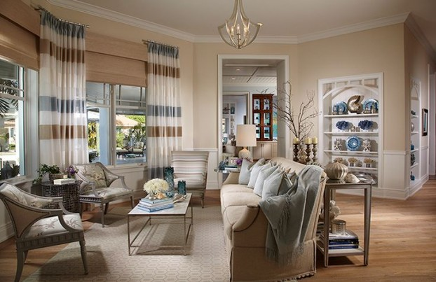 Beige Living Room Ideas 30
