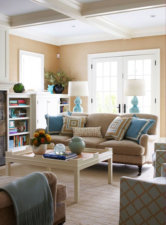 33 Beige Living Room Ideas 6