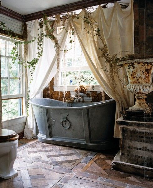 23 bohemian bathroom designs decoholic Rustic country style bathrooms