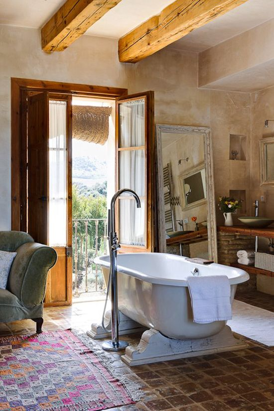 Bohemian Bathroom Designs 12