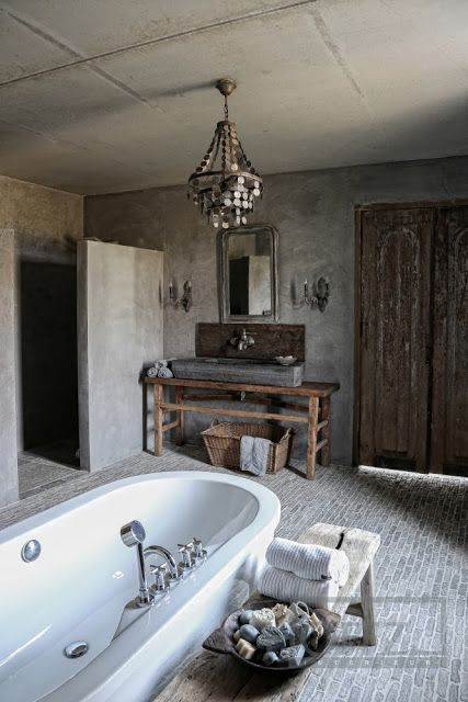 Bohemian Bathroom Designs 15