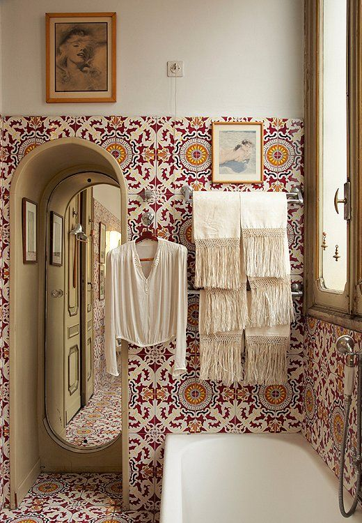 Bohemian Bathroom Designs 19