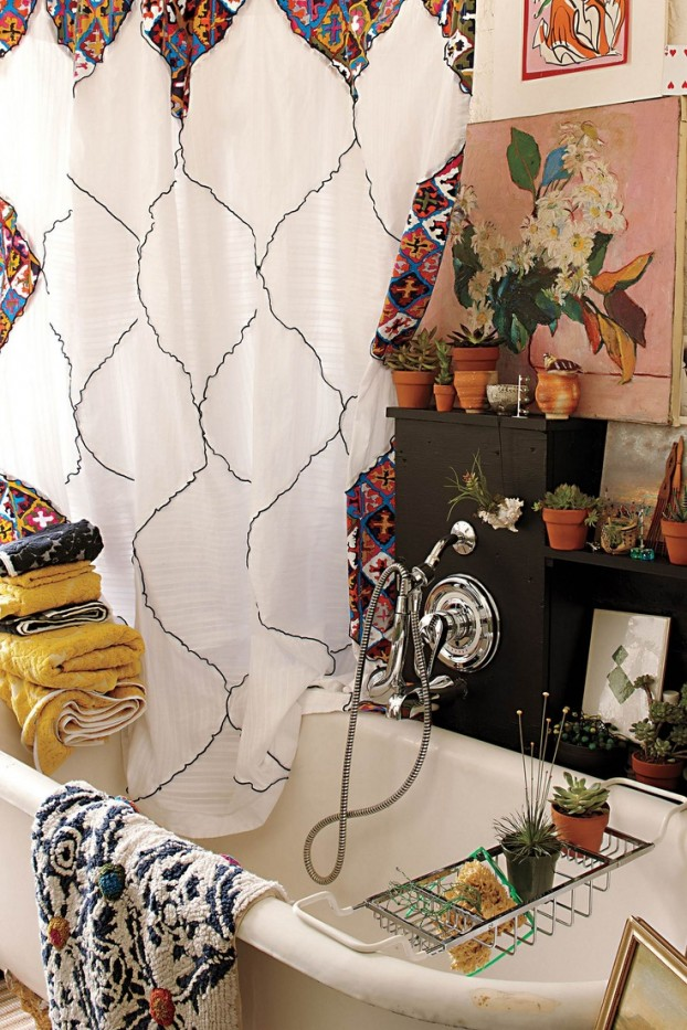 Bohemian Bathroom Designs 22