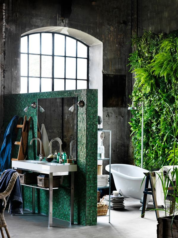 23 bohemian bathroom designs decoholic for Decoration urban jungle
