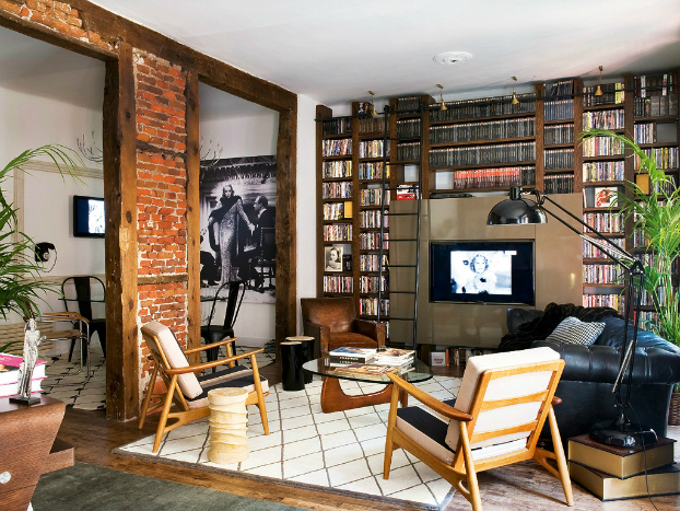 Beautiful Built In Bookshelves 10