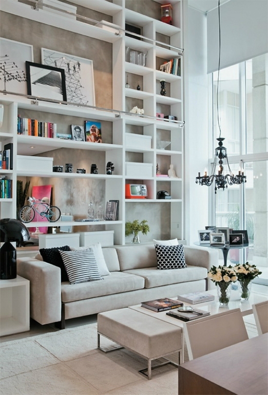 Beautiful Built In Bookshelves 11
