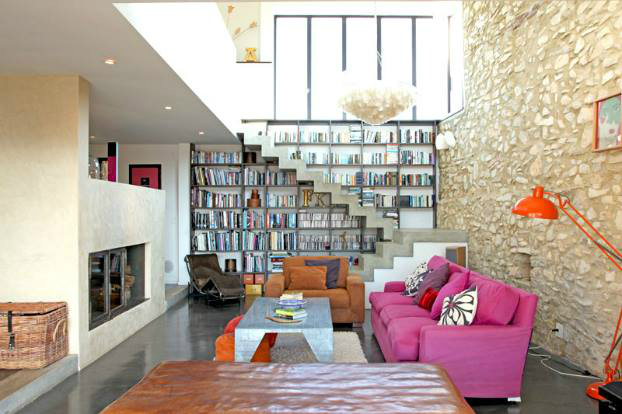 Beautiful Built In Bookshelves 13