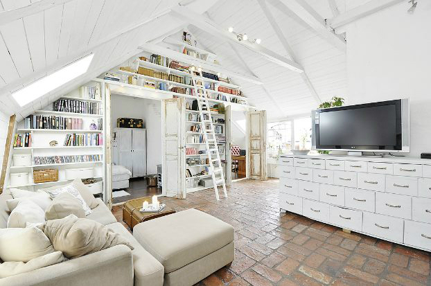 Beautiful Built In Bookshelves 14