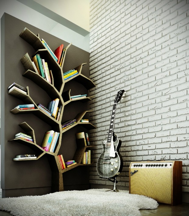 Beautiful Built In Bookshelves 17