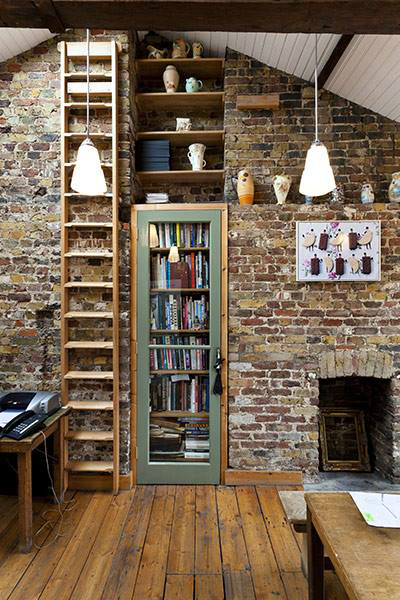Beautiful Built In Bookshelves 2