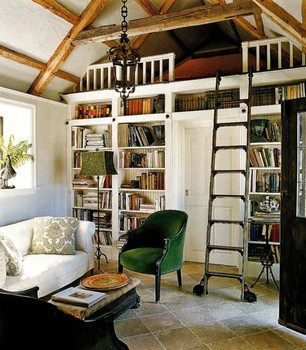Beautiful Built In Bookshelves 21