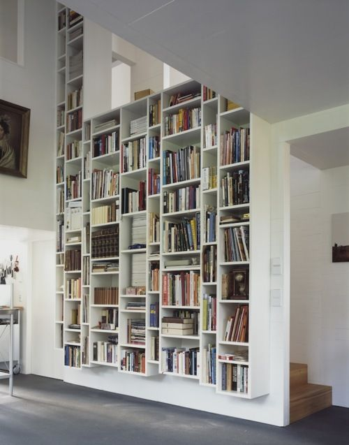 33 beautiful built in bookshelves decoholic - Contemporary built in bookshelves ...