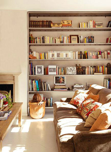Beautiful Built In Bookshelves 6