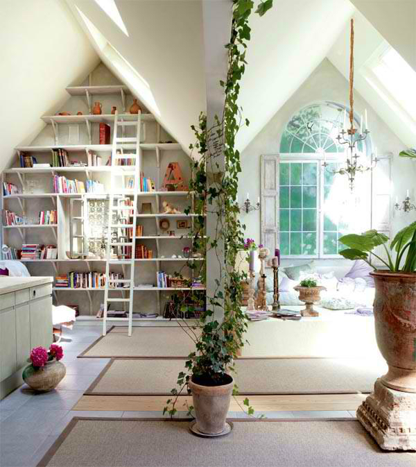 Beautiful Built In Bookshelves 7