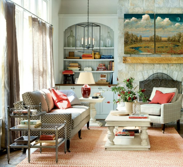 Charming Living Room Ideas 10