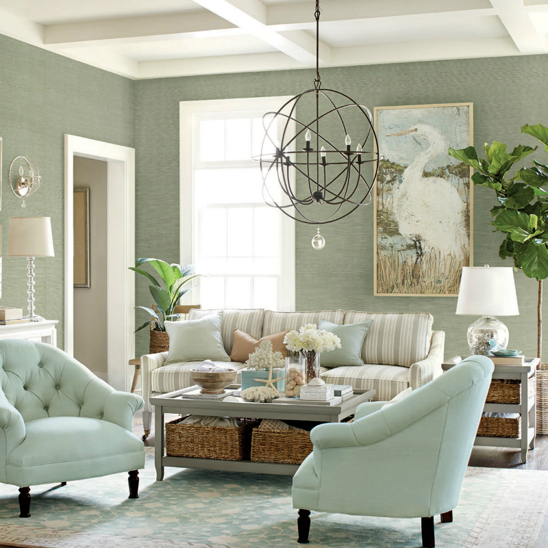 36 charming living room ideas decoholic for Living room chandelier