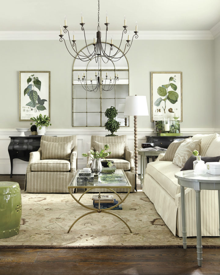olive green colors in home decor