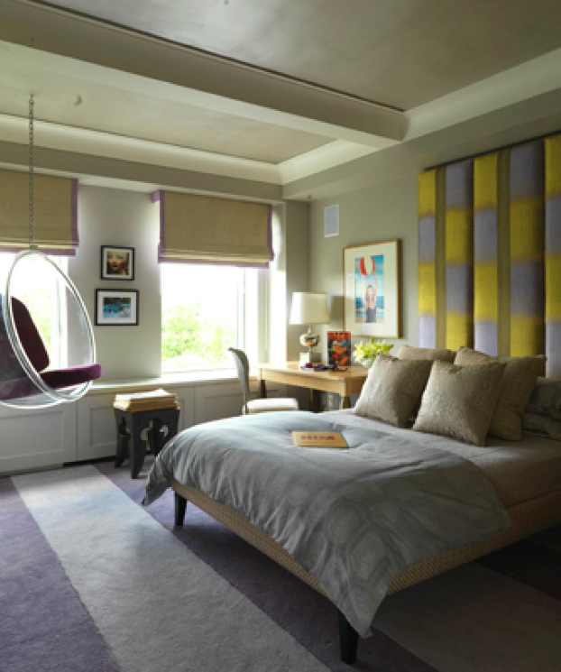 contemporary chic bedroom design 2