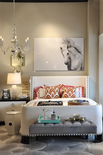contemporary chic bedroom design 3