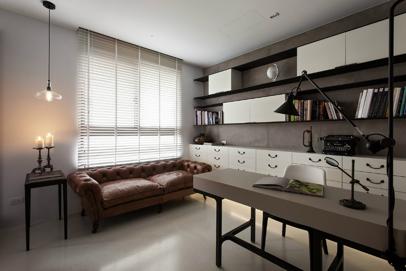 contemporaru highrise apartment interior 7