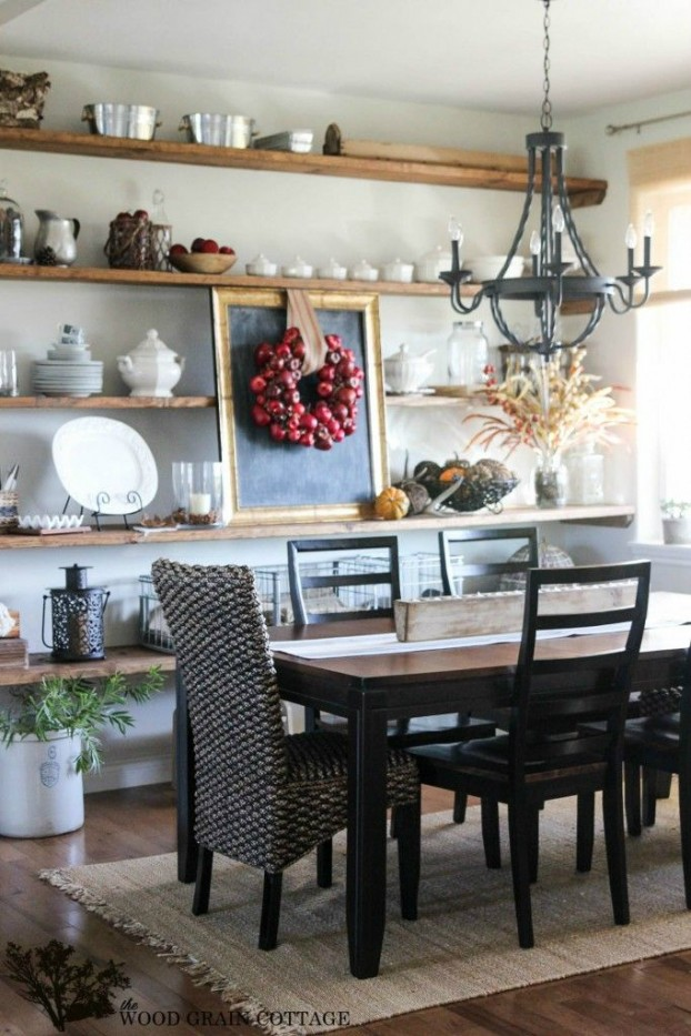 32 dining room storage ideas decoholic for Small dining room storage ideas
