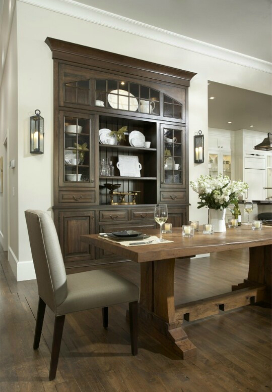 32 dining room storage ideas decoholic for Dining room cabinets