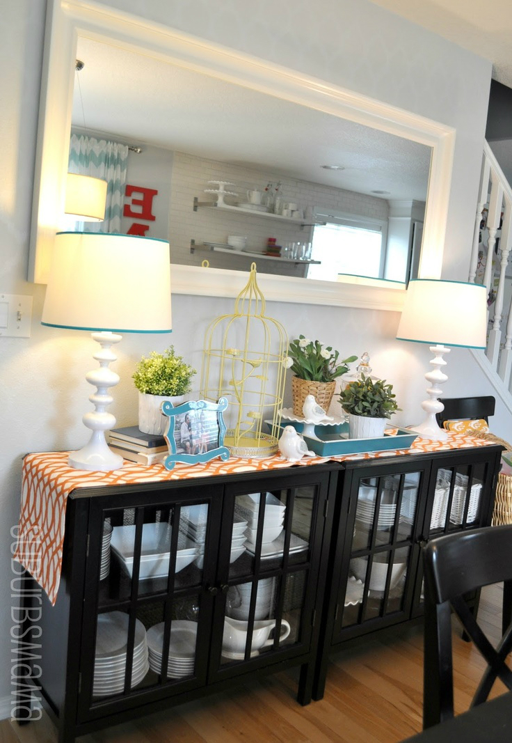 Dining Room Wall Unit Adorable 32 Dining Room Storage Ideas  Decoholic Decorating Inspiration
