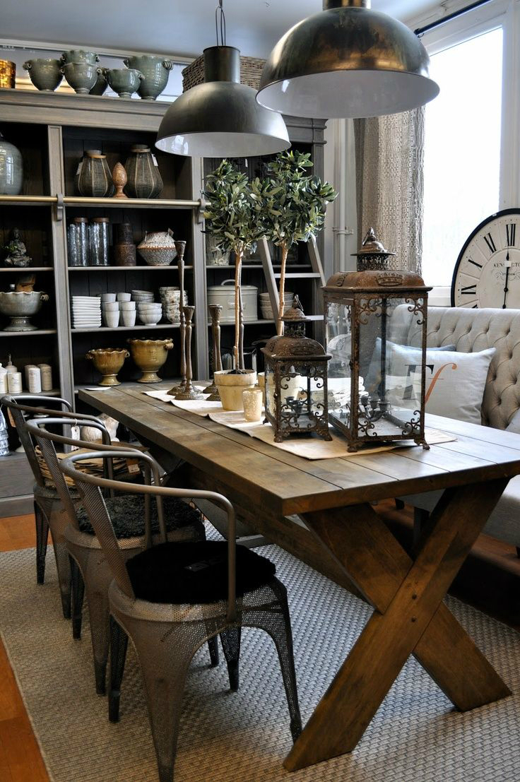 32 dining room storage ideas decoholic for Dining room ideas rustic