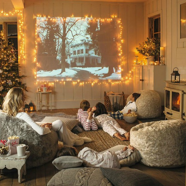 bean bags as family room ideas