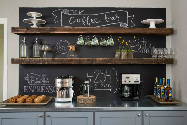 New 40 Ideas To Create The Best Coffee Station - Decoholic GI16