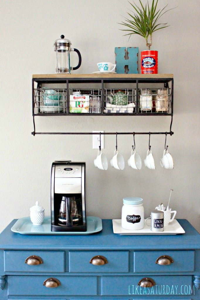 Good ... Home Coffee Station 16 Idea
