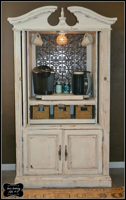 Armoire Makeover Diy Kitchen Cabinets