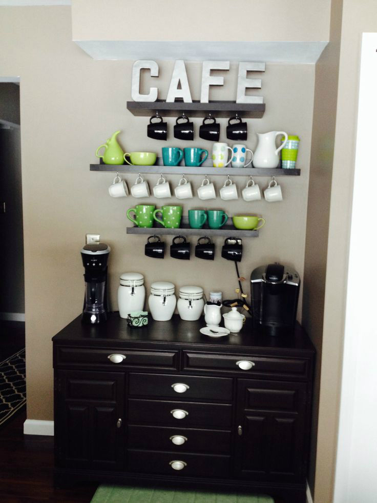How To Make A Coffee Bar In Your Kitchen
