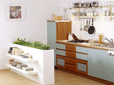 How to decorate your kitchen with herbs 40 ideas decoholic for Kitchen garden decoration